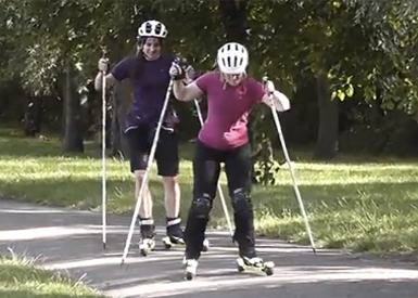 Jo-and-Devon-roller-skiing-380x275