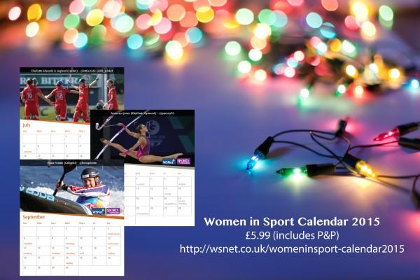 Women in Sport calendar ad