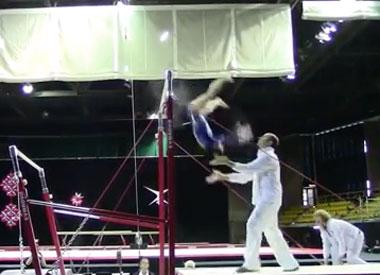 Gymnast-fail