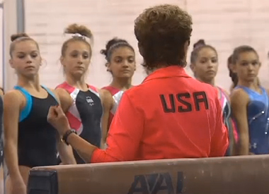 USA gymnastics pic