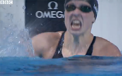 This is how you look when you break a world record by four seconds