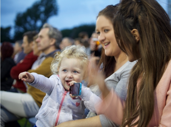 Another game for you? Who's this player's sister Beki and her niece Evie...
