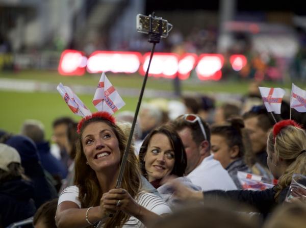 Selfie sticks replaced cricket bats.