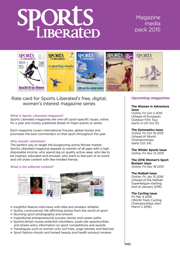 Sports Liberated Media Pack P1