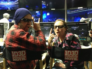 Pic 06 In gallery for 1D3D 'This is Us' movie [hence the 3d glasses] with director Paul Dugdale 2013