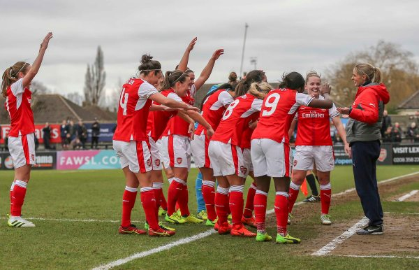Arsenal Ladies laud Kelly Smith