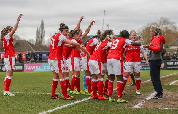 Arsenal Ladies laud Kelly Smith