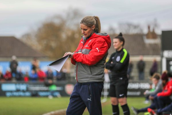 Kelly Smith as coach