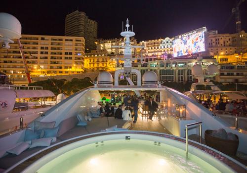 My Yacht Monaco host a Friday night reception on board