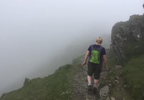 Snowdon-misty